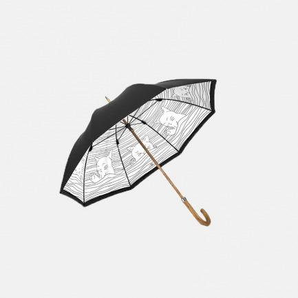 猫式物语枫木直杆伞 | 来自喵星人的陪伴