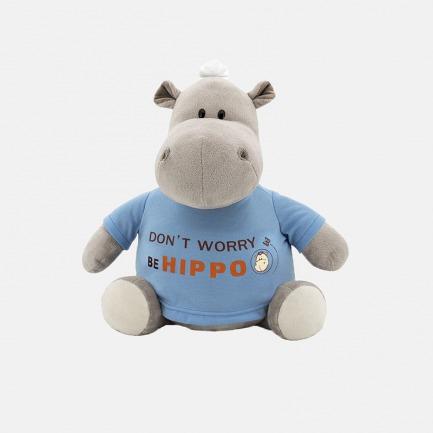Po河马(Hippo T恤)玩偶 | 送给孩子最好的礼物 22cm/30cm