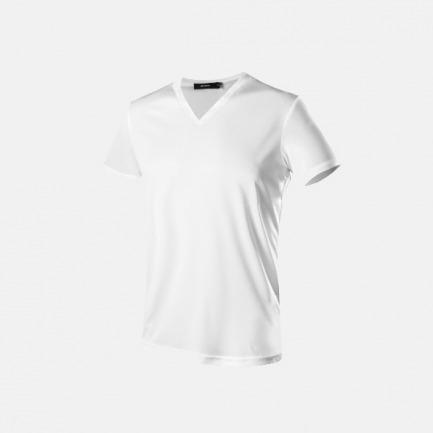 男款V领T恤 | 超疏水防污面料 | 轻薄透气易清洗【黑白两色】