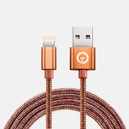 LIGHTEN UP!充电数据线 | 苹果MFI官方认证 高品质镀锡铜锌