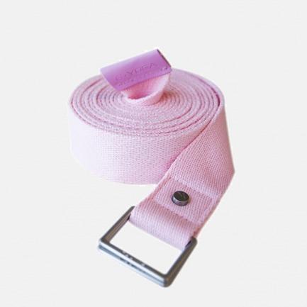 瑜伽伸展带 | 进口纯棉材质 柔软强韧 减少运动伤害【樱花粉色】