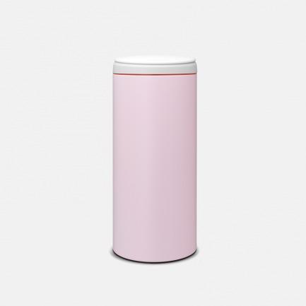 指弹式垃圾桶 | 静音式设计 贴心无噪声 樱花粉色 30L