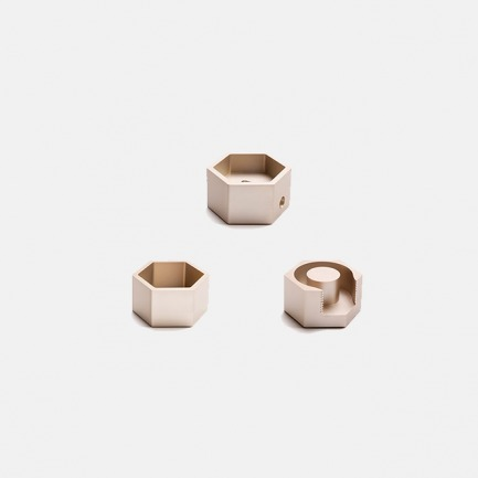 Pile Up桌面【三件套】 | 铝材一体成型技术 优雅简洁 浑然一体
