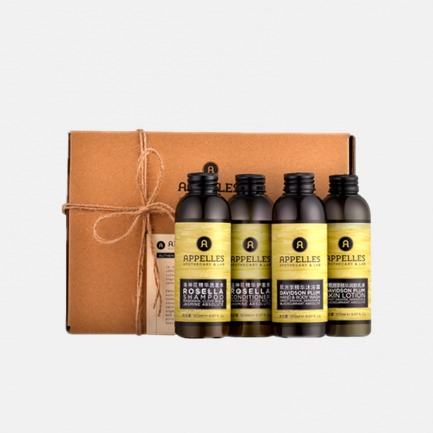 绿标系列护发护肤四件套 | 最高品质植物精油 高效呵护您的肌肤【150ml*4】