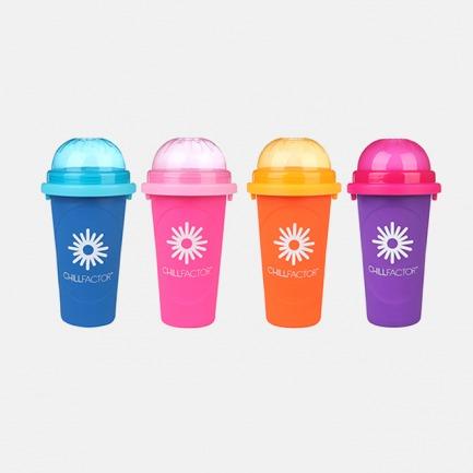 缤纷冰沙杯 | 食品级硅胶 可食用冷冻液 自制冰爽美味过夏天【多色多款可选】