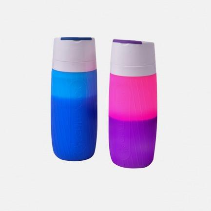 多彩变色水瓶 | 15秒钟喝冷饮 保冰2小时【两色可选】