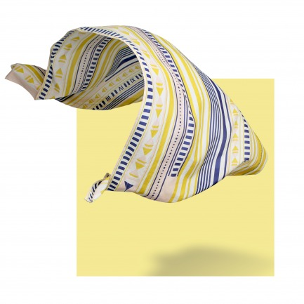 MEASURE  丝棉几何图案大长巾 | 原创设计师品牌