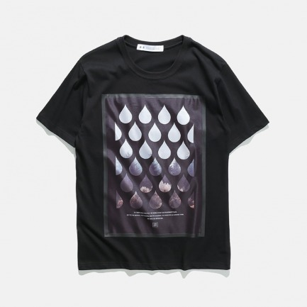 激光切割无缝压胶印花T恤 | 17S/S CREW-NECK PRINTED TEE