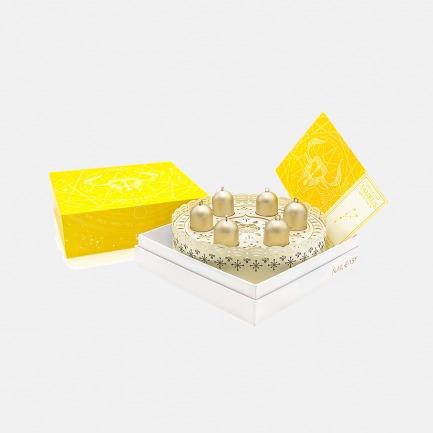 胶囊甲油 | 金牛座蛋糕造型 音乐盒包装设计 6支装