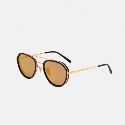 P738时尚太阳镜 | 板材+金属材质【两色可选】