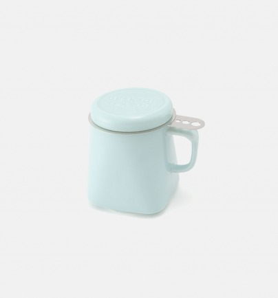 和风炫彩方形马克茶杯 | 日本本土工艺制造 400cc【多色可选】