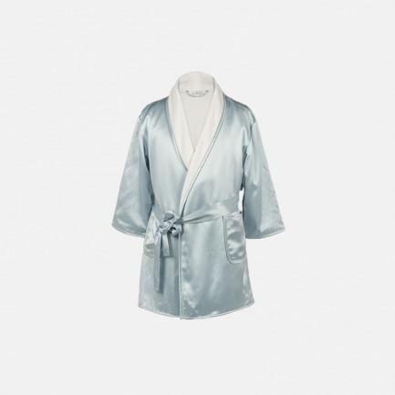 Silk Terry婴童睡袍 | 顶级桑蚕丝面料 带给孩子优质睡眠(天水蓝/甜藕粉)
