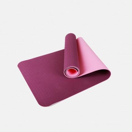 加厚防滑健身垫双面瑜伽垫两色 | 加厚防滑双面