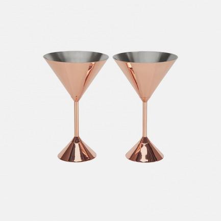 镀红铜鸡尾酒杯 | 功能与艺术的结晶 高光泽铜打造
