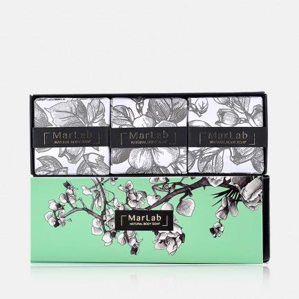 仲夏夜花园香氛皂礼盒 | 天然温和 保湿修复提亮【3块装】