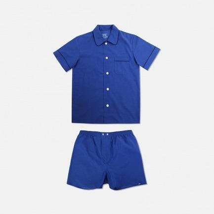 Eamon男士短袖短裤睡衣套装