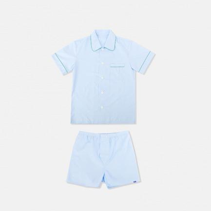 Kacper男士短袖短裤睡衣套装