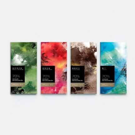 纯可可脂硬质巧克力 | 治愈系 香醇营养 健康无负担【四种口味可选】