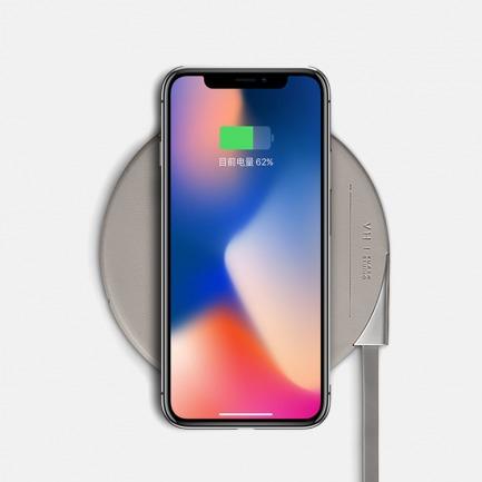 GI苹果8安卓无线充电器 | 快速充电 轻薄便携、