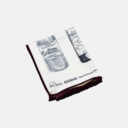 微醺手绘擦杯布 | 波尔多/勃艮第/意大利篇三款可选