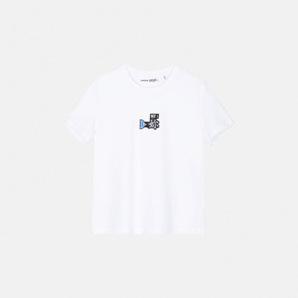 薄棉弹针织布T恤  | 经典廓形 随性时髦【女款 两款可选】