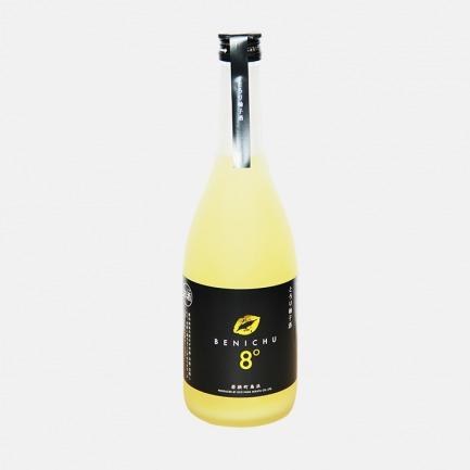 日本福井 Benichu红唇8°柚子酒 | 采用福井县产红映梅与日本本土柚子酿造【720ml】