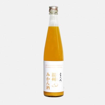 日本广岛 富久长温州橘子酒 | 果肉含量感人的甘醇果酿【500ml】