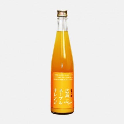 日本广岛 富久长柑橘酒 | 萃取大量柑橘原汁果肉酿造的天然果酒【500ml】