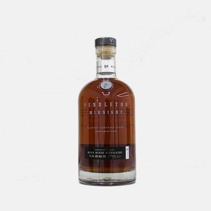 Pendlton midnight Whiskey 彭德尔顿零时威士忌 | 白兰地桶中陈酿的顶级加拿大调和威士忌【750ml】