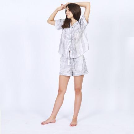 Nirvana House Pyjamas 短款女士家居睡衣套装
