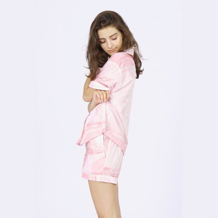 Blossom House Pyjamas 短款女士家居睡衣套装