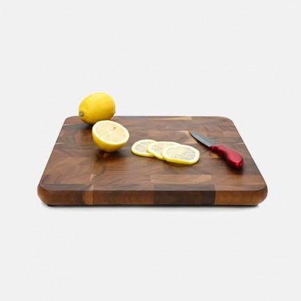 正方形菜板 | 泰国进口相思木 色泽典雅 触感细腻 不易伤刀