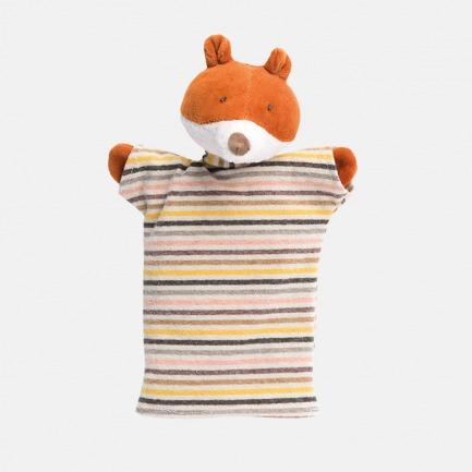 条纹T恤小狐狸手偶 | 形象可人,做工考究