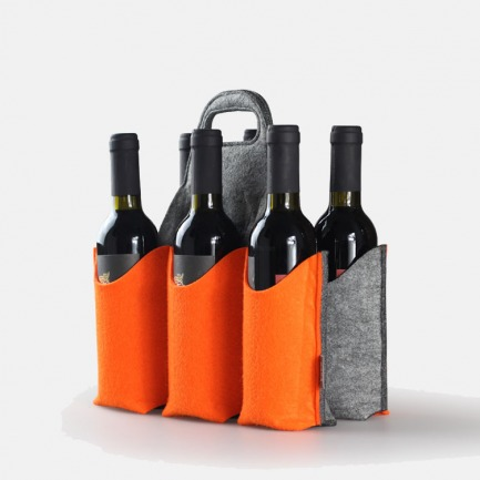 巧玲珑六支装 红酒酒袋 | 提手款375ml  绿色环保