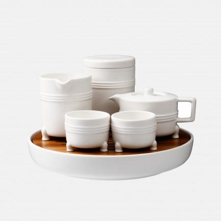 国立故宫博物院系列 | 弦纹茶组 古典美学