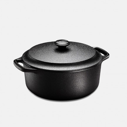 瑞典铸铁不粘锅熬汤锅 | 快速导热 富含珍稀微量元素  矿源纯净无污染【4L】