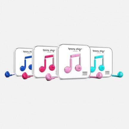 瑞典轻奢品牌Happy Plugs Earbud Plus线控入耳式耳机潮搭炫彩系列【多色可选】