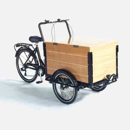 木纹胶合板三轮车