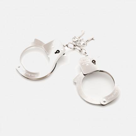另类束缚金属手拷 | 快速打开的手柄设计 粗细任意调节