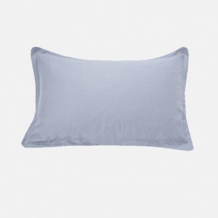 亚麻平纹枕套(一对) | 多色可选