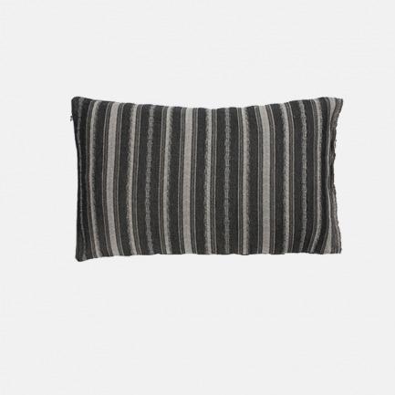 棉麻提花靠垫套 长方形 | 三色可选