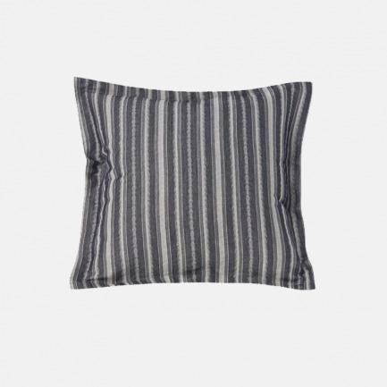 棉麻提花靠垫套 正方形 | 三色可选