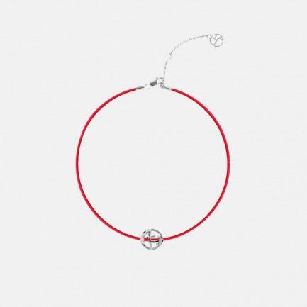 「上下」爱马仕旗下品牌 龙珠幸运珠红绳手链 925银龙珠挂坠