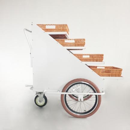 层架展示拖车 | 咖啡豆贩售 商场陈列 可独立使用