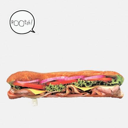 创意仿真抱枕 sub食物三明治形状 | 小重口味靠垫 趣味礼物