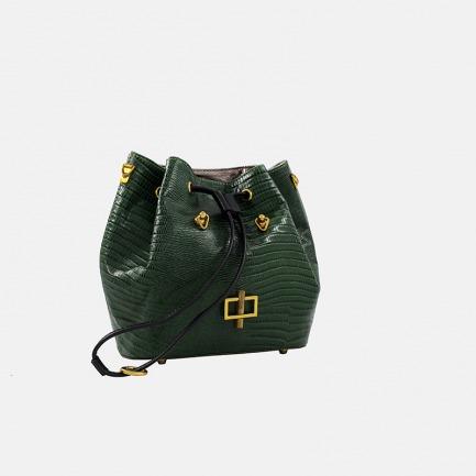绿蜥蜴小桶包 | 小身材大容量