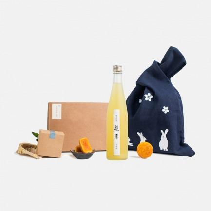 奇妙滋味中秋礼袋 | 香甜美酒与奶黄流心月饼的奇妙大碰撞