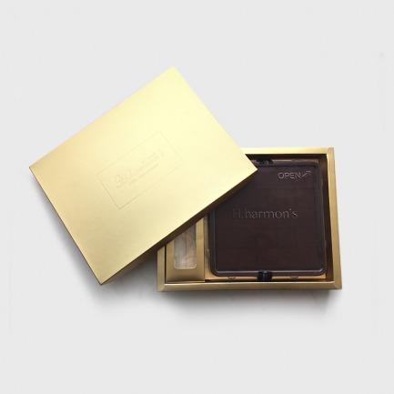 【限量特别款】爱 の 金夕 H.harmons 生黑巧克力