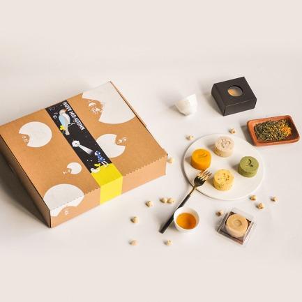 【中秋礼盒系列】 素言 | 六种口味月饼