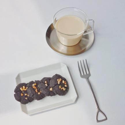 暗黑榛果全麦饼干 | 黑芝麻酥香口感 黑美人升级版【型号可选】